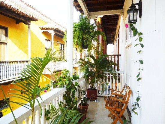 Hotel Santa Cruz: balcon