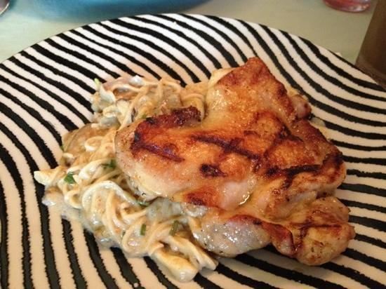 My Restaurant : spaghetti & chicken chop - Yammy