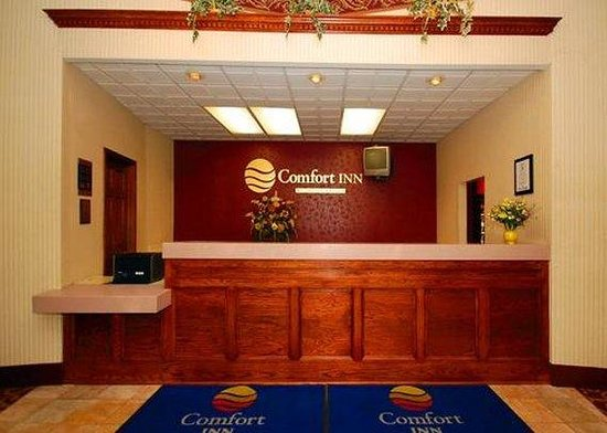 Comfort Inn Conference Center: front desk