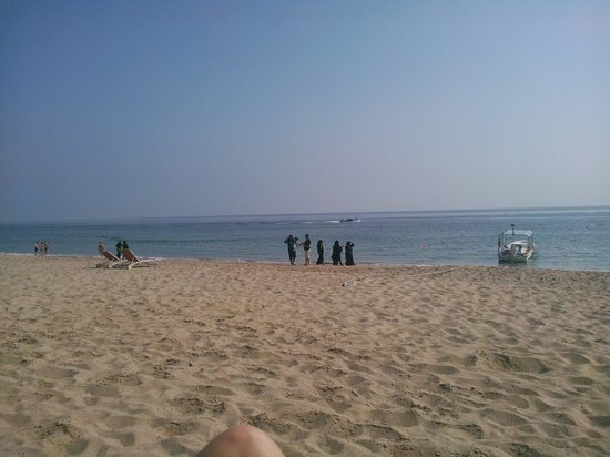 Miramar Al Aqah Beach Resort:                   stranden