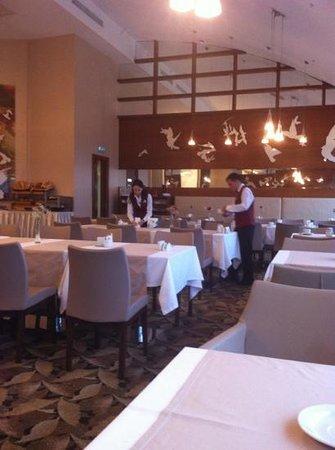 Baia Hotel Bursa: colazione al settimo piano
