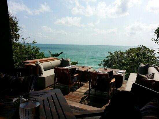 Vana Belle, A Luxury Collection Resort, Koh Samui:                   Thai Restaurant-Outside