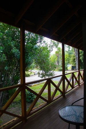Te Araroa Holiday Park: View from the room