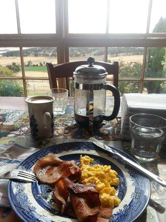 Cornwall Cottage Bed & Breakfast:                   Pretty unbeatable brekky
