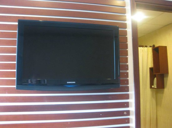 Asian Ruby Park View Hotel:                   Television