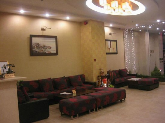 Asian Ruby Park View Hotel:                   Reception area