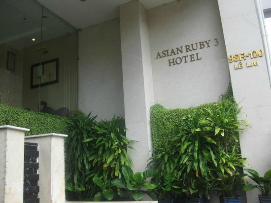 Asian Ruby Park View Hotel:                   Entrance