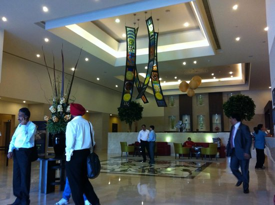 Lemon Tree Premier Hitec City Lobby