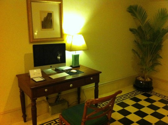 Raffles Grand Hotel d'Angkor:                   Very thoughtful. There is one on each floor.