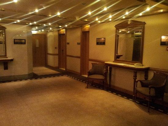 Crowne Plaza Hotel Dubai: hallway
