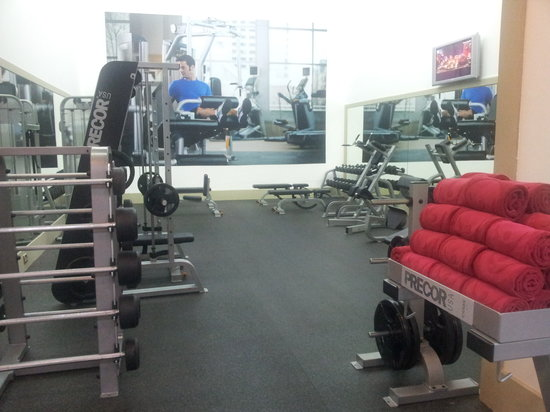 Crowne Plaza Hotel Dubai: gym