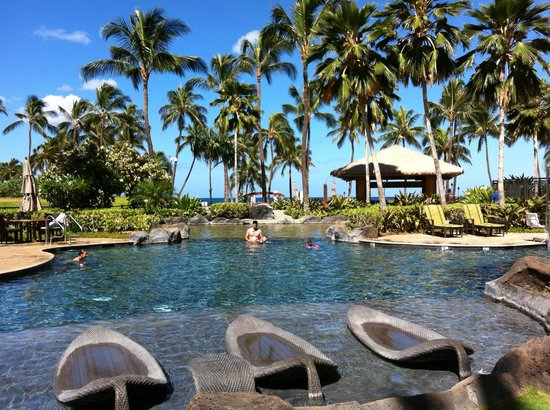 Beach Villas at Ko Olina:                   Lagoon Pool