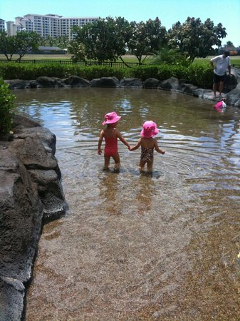 Beach Villas at Ko Olina:                   Shallow Kiddy Pool