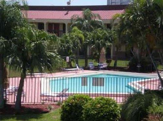 Red Roof Inn Fort Myers: Pool landscape