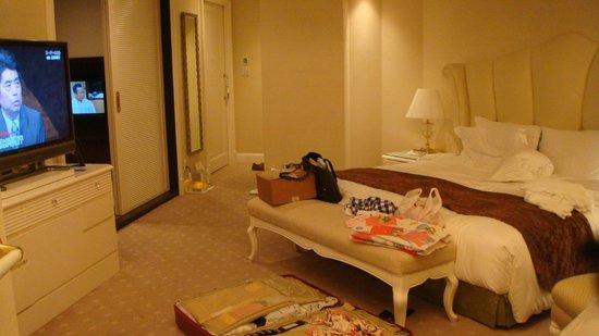 Hotel La Suite Kobe Harborland:                   兒童可以睡在房間裡的和室隔間
