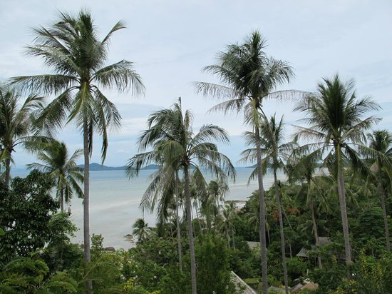 Kamalaya Koh Samui: Views from the reception deck