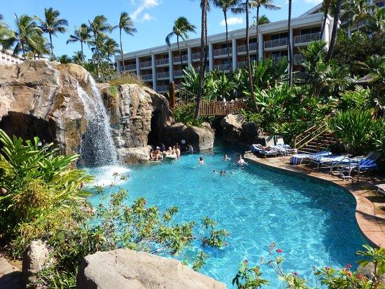 Cave Pool Bar Picture Of Grand Wailea A Waldorf Astoria Resort Wailea Tripadvisor