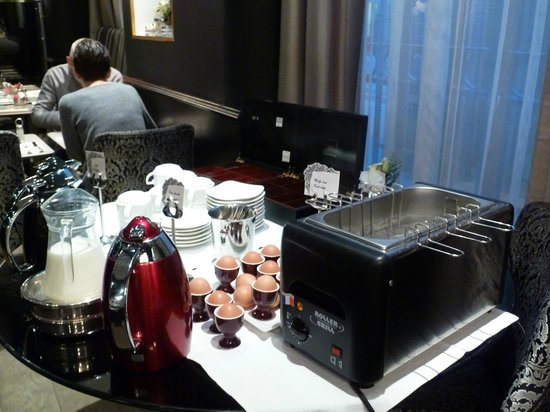 Hotel Lumen Paris Louvre: Boil Your Own Eggs