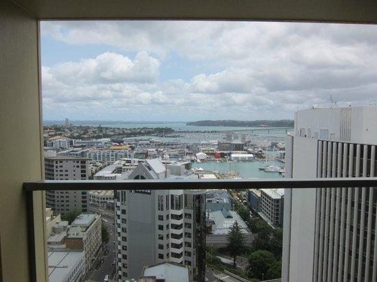 The Sebel Quay West Auckland:                   View to Auckland Harbour (23rd floor)