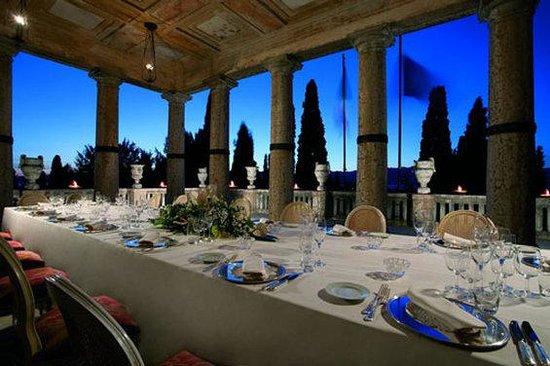 Villa Cortine Palace Hotel Wedding