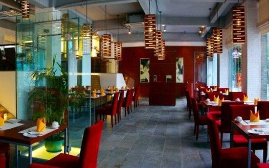 يانجشو تانجرينجي هوتل: Restaurant