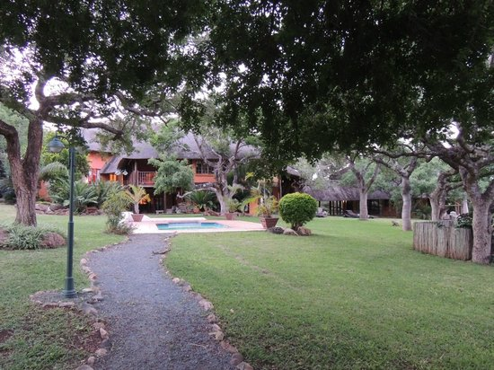 Zebra Hills Safari Lodge:                   Grounds of Zebra Hills
