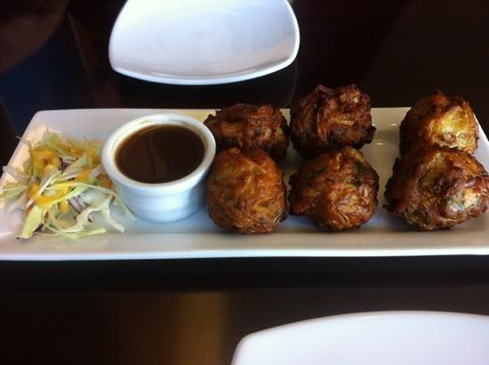 Arjee Bhajee: bhjee -6 is not enough. very yummy
