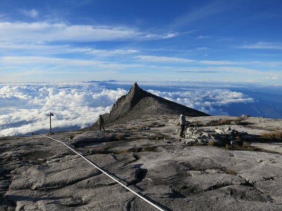 Mount Kinabalu:                   About 7am