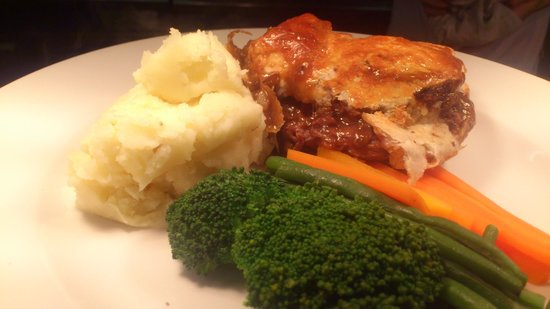Trumpet Inn: trumpets classic homemade pie £10.50 with a beer what value