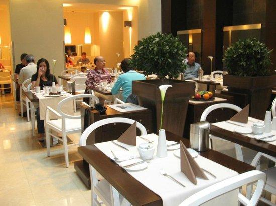 Hotel Parlament: Sala colazione