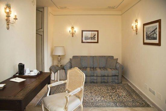 Villa Poggiano: deluxe suite