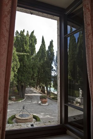 Villa Poggiano: view from one suite