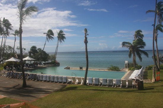 Shangri-La's Fijian Resort & Spa:                   One of the pools