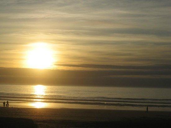 VClub Agadir: tramonto spiaggia agadir