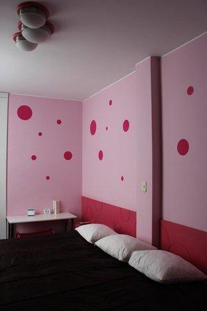 Dreams Hotel Boutique:                   View of room