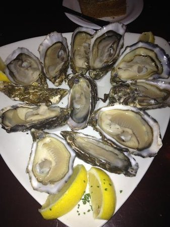 The Quays Restaurant :                   Oysters