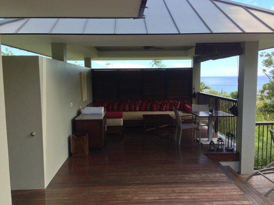 Raffles Seychelles: Terrasse 261