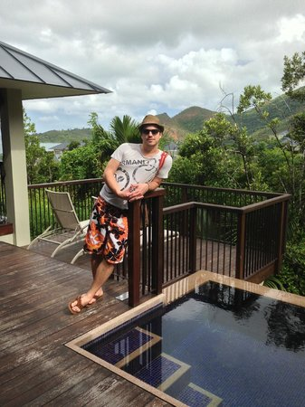 Raffles Seychelles: Me ;-) in Villa 261