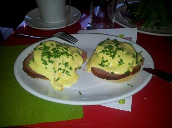 Brew:                   Probably the best Eggs Benedict I have had!