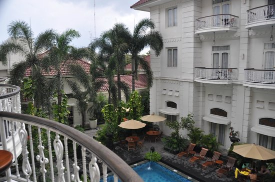 The Phoenix Hotel Yogyakarta - MGallery Collection: view from balcony