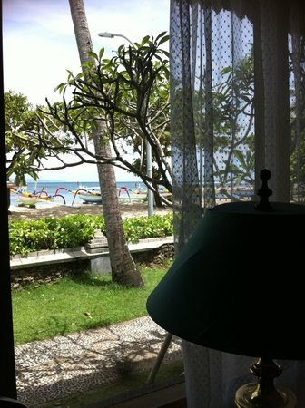 Inna Grand Bali Beach Hotel:                   view from room