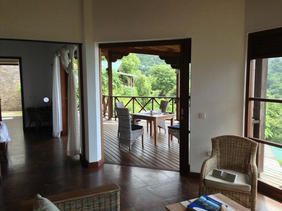 Villas de Jardin: From the living area