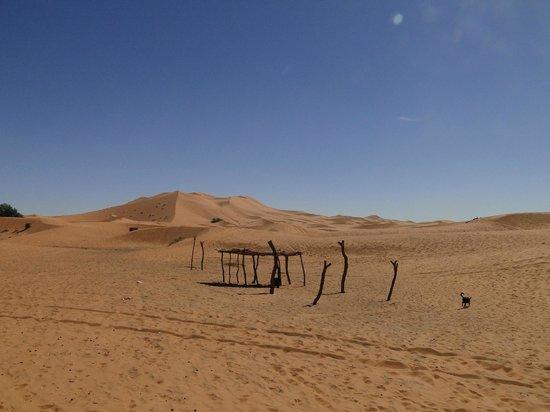 Takojte Hotel: entrée vers le désert
