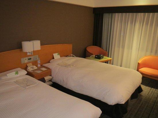 โรงแรมแกรนเวีย ฮิโรชิม่า:                                     2-хместный номер