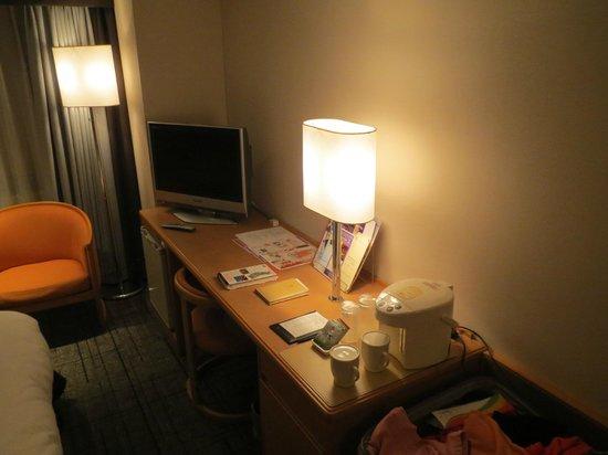 โรงแรมแกรนเวีย ฮิโรชิม่า:                                     2-х местный номер
