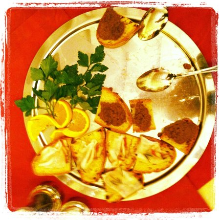 San Lino:                   toscan crostini