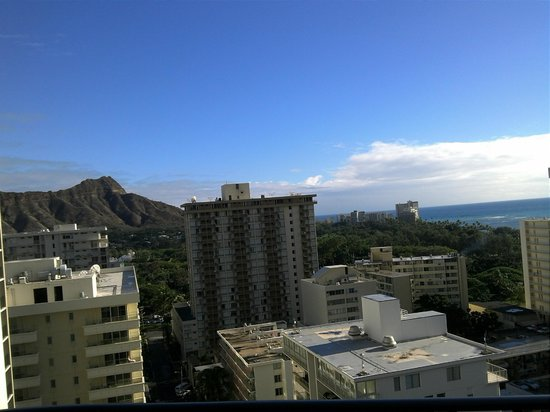 Waikiki Beach Marriott Resort & Spa:                   Diamond Head