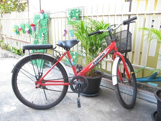 I Lub U Guesthouse: Bicycle for rent