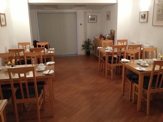 Church Guest House:                   breakfast room