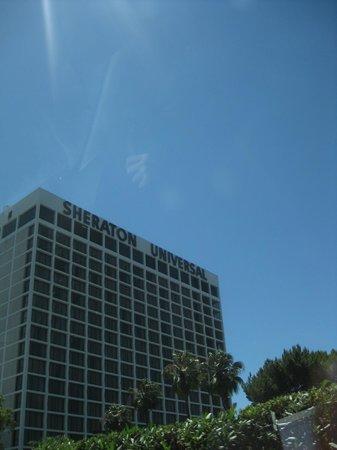 Sheraton Universal Hotel:                   View of hotel